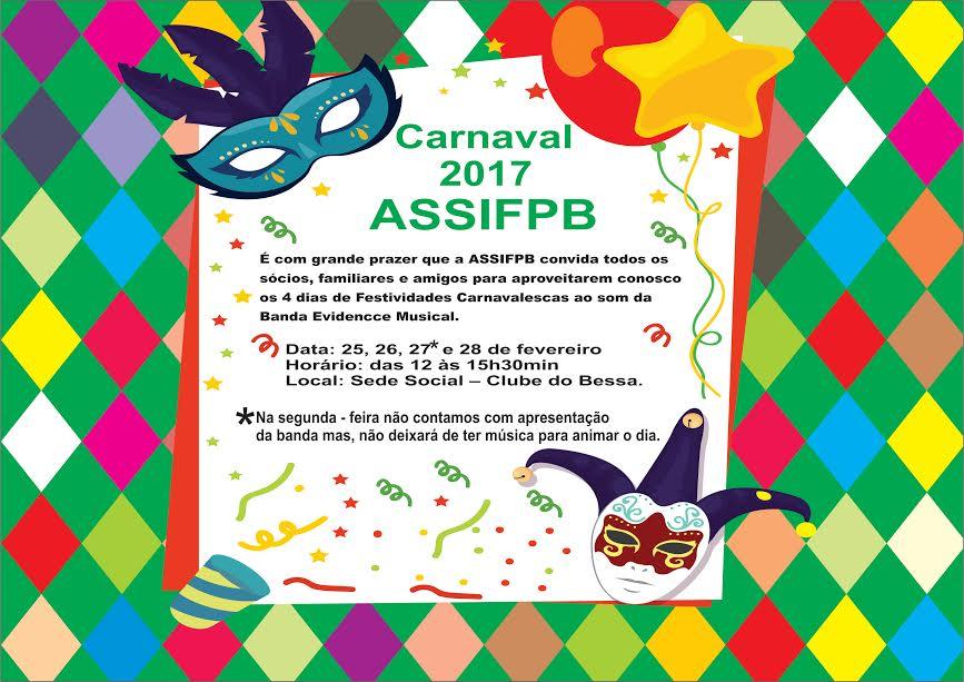 carnaval assifpb 2017